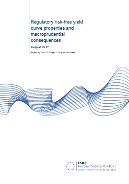 ESRB Report, Regulatory risk-free yield curve properties and macroprudential consequences - cover image