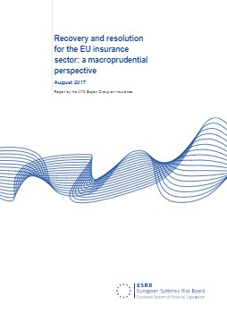 ESRB Report, Recovery and resolution for the EU insurance sector: a macroprudential perspective - cover image