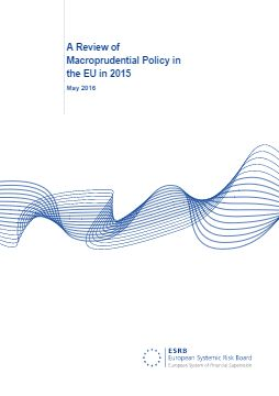 A Review of Macroprudential Policy  in the EU in 2015 - cover image